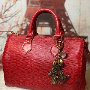 Authentic Louis Vuitton Caprice Key Bag Charm